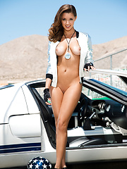 Gentlemen, start your engines for Alyssa Arcè, Playboy Miss July 2013